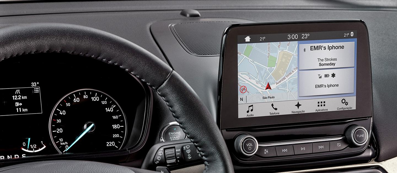 """SYNC® 3 con pantalla touch de 8""""."""